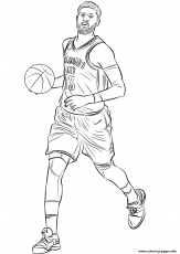 Paul George Coloring Pages Printable
