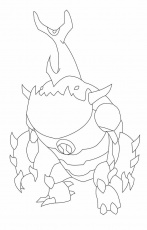 Eatle Alien Change Of Ben Ten Coloring Page | Ben 10 Coloring Page ...