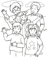 Pin Happy People Colouring Pages on Pinterest - Coloring Pages