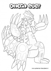Primal Groudon Coloring Page | Omega Ruby And Alpha Sapphire ...