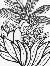 7 Pics of Endangered Rainforest Animals Coloring Pages - Tropical ...