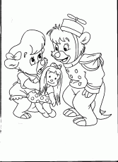 German coloring pages book © TaleSpin