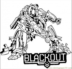 Transformers Coloring Page 12 Coloring Page - Free Transformers Coloring  Pages : ColoringPages101.com