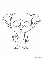 Dobby Is A House Elf In The Harry Potter Coloring Pages Printable