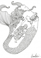 Detailed Coloring Pages For Adults Free Fairy Tale Coloring-1247 ...
