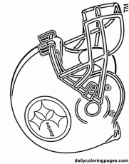 Best Photos of Logo Coloring Pages Football - Pittsburgh Steelers ...