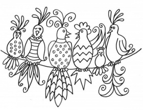 1000+ ideas about Bird Patterns | Pattern Paper ...