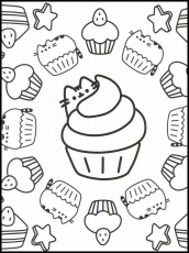 Pusheen 90 Printable coloring pages for kids in 2020 | Pusheen coloring  pages, Cute coloring pages, Coloring pages for kids