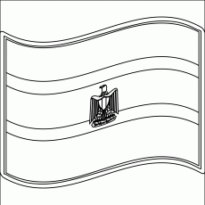egyptian flag coloring pages - photo#25