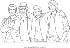 Big Time Rush Coloring Pages For Print And Color  Coloring Pages