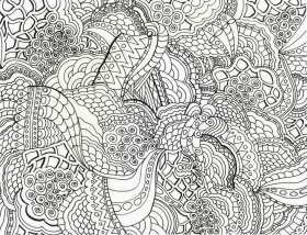 Adult Coloring Pages Printable Pattern - Ð¡oloring Pages For All Ages