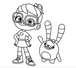 Aby Hatcher free coloring | Cute coloring pages, Coloring pages, Cartoon coloring  pages