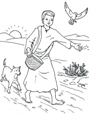 The best free Parable coloring page images. Download from 134 free ...