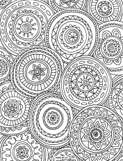 Free Ship Printable Doodle Art Coloring Pages Page