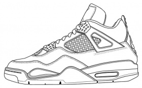 air jordan 14 drawings