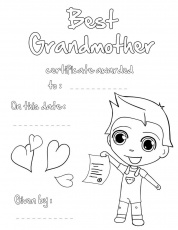 12 Pics of Mother's Day Coloring Pages For Grandma - Printable ...