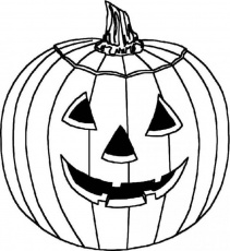 pumpkin coloring page - Site about Children