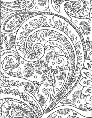 Printable Coloring Pages for Adults 343 - Detailed Coloring Pages ...