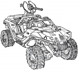 Halo 5 Coloring Pages Pictures