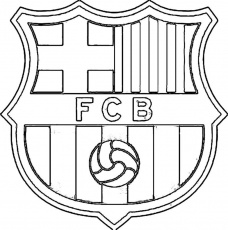 11 Pics of Barcelona Soccer Logo Coloring Pages - Barcelona Logo ...