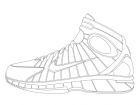 Free Nike Coloring Pages, Download Free Clip Art, Free Clip ...