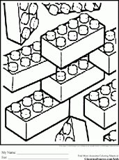 Block Coloring Pages To Print - Coloring Pages For All Ages