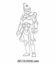 Lego Captain Rex Coloring Pages Coloring Pages Coloring Home