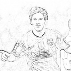 leonle messi colouring pages coloring pages free