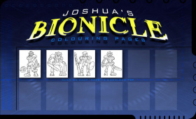joshuas bionicle colouring - Bionicle Coloring Pages Printable