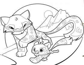 animal jam coloring pages | Animal jam, Animal coloring ...