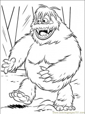 Bigfoot Coloring Page | Free Bigfoot Online Coloring | coloring ...