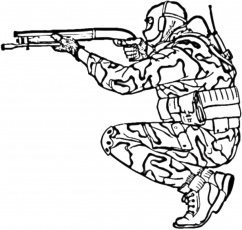 Online coloring pages Coloring page Sniper military, Download print coloring  page.