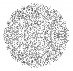 complicated colouring pages to print - coloring pages for kids and ... - Complicated Coloring Pages