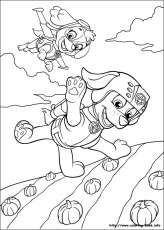Flying Patrols Coloring Pages