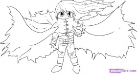 Draw Chibi Vincent Valentine, Step by Step, Drawing Sheets, Added ...