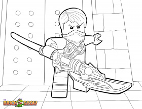 LEGO Ninjago Coloring Pages : Free Printable LEGO Ninjago Color Sheets