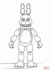 Pin by Carla Black on Fnaf | Fnaf coloring pages, Coloring ...