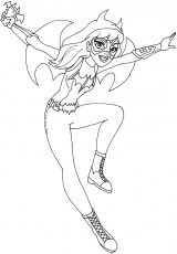 Coloring Pages : Batgirl Coloring Pages Image Result For ...
