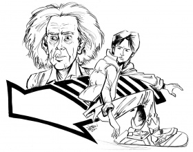 Back To the Future coloring pages