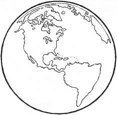 world map coloring page free coloring page map of the world ...