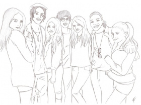 Victorious Coloring Pages Taylor Swift Pcherrys Colouring Pages