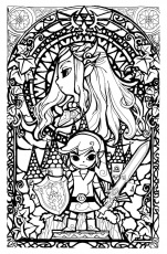 Princess Zelda Coloring Page | Free Printable Coloring Pages ...