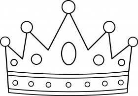 king crowns coloring pages