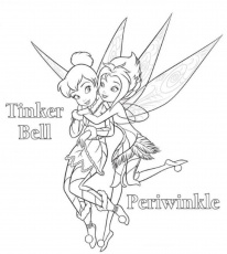 10 Pics of Tinkerbell And Fairies Coloring Pages - Free Printable ...