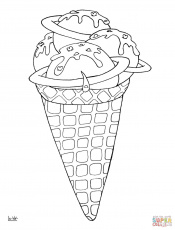 Coloring Pages : Desserts Coloring Book Free Mindfulness Colouring ...