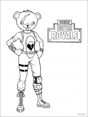 Coloring Pages : Fabulous Fortnite Coloring Sheets Picture ...