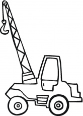 Collection Little Crane Coloring Page | Coloring pages, Coloring pages for  kids, Truck coloring pages