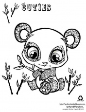 Cute Animals Coloring Pages Picture - Whitesbelfast.com