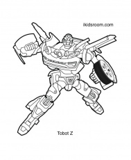 Tobot Coloring Pages: Tobots X, Y, Z, W ...ikidsroom.com
