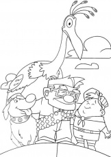 pixar up coloring pages | Only Coloring Pages